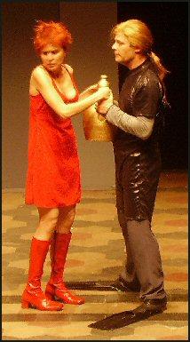 Brontis Jodorowsky e Eliana Cantone