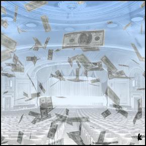 money and theatre