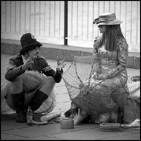 London's mimes