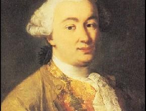 Alessandro Longhi, Ritratto di Goldoni (dettaglio)