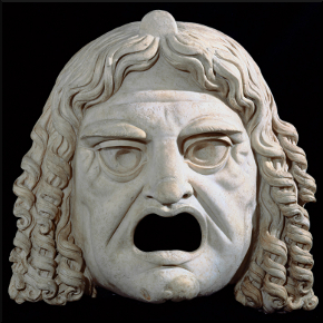Female Comedy Mask 2nd century A.D.