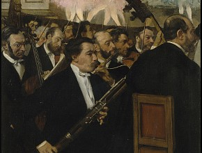 Edgar Degas - L'Orchestra dell'Opéra