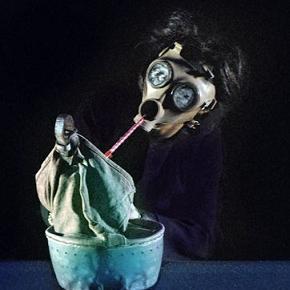 Nicole Mossoux in Kefar Nahum (photo: mimefest.co.uk)