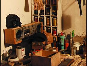 Il laboratorio di Giancarlo Santelli