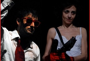 Daniele Timpano e Elvira Frosini