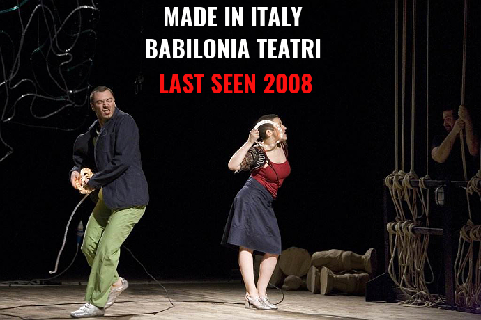Last Seen 2008 - Made in Italy