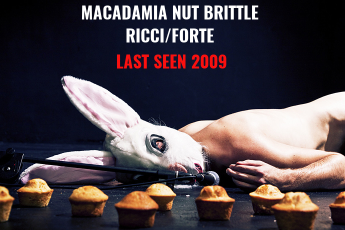 Last Seen 2009 - Macadamia Nut Brittle