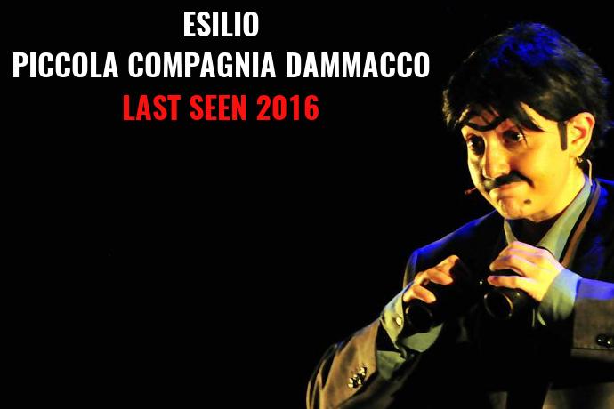 Last Seen 2016 - Esilio