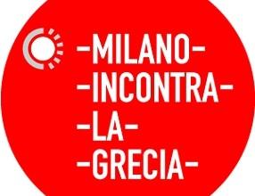 Il logo di Milano incontra la Grecia
