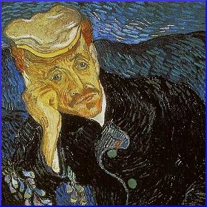 Vincent Van Gogh, Il ritratto del dottor Gachet, 1880