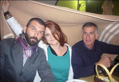 Kilowatt 2011: Tommaso Chimenti, Simona Polvani, Roberto Rinaldi  (photo: facebook.com/profile.php?id=1784612182)