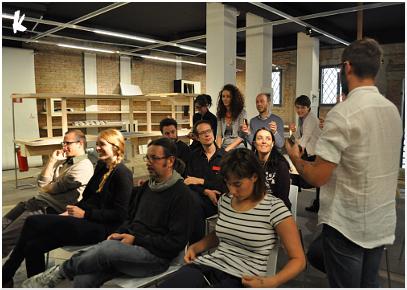 Laboratorio di Stephan Kaegi alla Biennale di Venezia