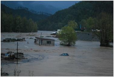 L'alluvione 2011 nelle zone di La Spezia