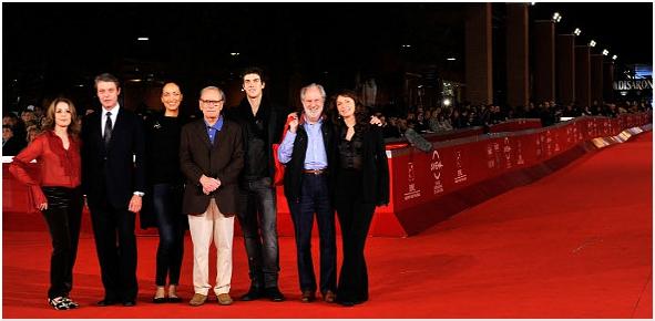La giuria della VI edizione del Festival del Cinema di Roma
