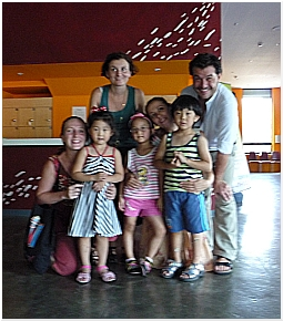 I Rodisio in Korea durante una tournée