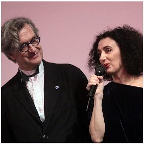 Wim Wenders e Cristiana Morganti
