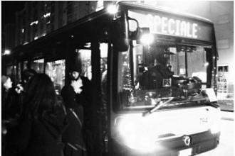 Un autobus speciale per la notte di Capodanno