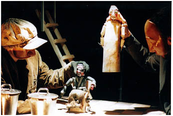 Finale di Partita di Samuel Beckett