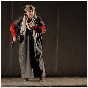 Claudio Morganti in Ombre Wozzeck