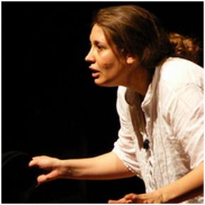 Nora Picetti in Rosa dalla paura all'America (photo: caffeletterario.org)