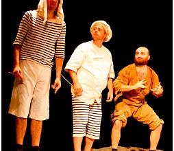 Slapsus / Luna e Gnac in TEMPESTA! – Shakespeare tuoni e fulmini