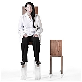 The Abramovic Method: Chair for Man and His Spirit
