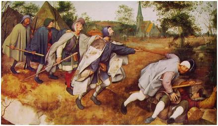 Pieter Bruegel - La parabola dei ciechi