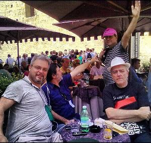 La tensione di Francabandera - Avanzo - Ponte di Pino - Bianchi prima della diretta