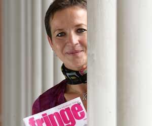 Kath Mainland - Fringe Chief Executive (photo: edinburgh-festivals.com)