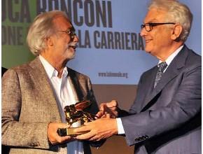 Luca Ronconi riceve il Leone d'Oro alla Carriera