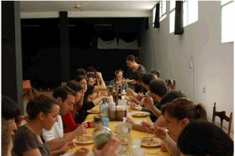 Pranzo con Emma Dante a La Vicaria