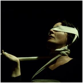 Antonella Questa in 'Vecchia sarai tu' (photo: laq-prod.net)