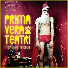 La locandina di Primavera dei Teatri 2012