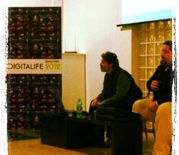 Carlo Infante durante Digitalife