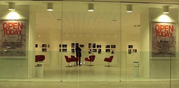 Il foyer del Teatro Abeliano di Bari