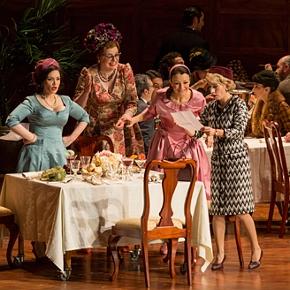 Falstaff (Atto I, Parte II): Mrs. Alice (Carmen Giannattasio), Mrs. Quickly (Daniela Barcellona), Nannetta (Irina Lungu), Mrs. Meg (Laura Polverelli)