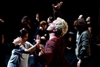 Un momento del progetto Tanzzeit Tempo di danza al Valle Occupato