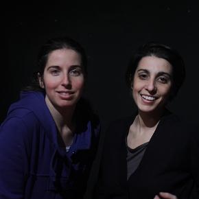Giulia Taglienti e Maria Zamponi