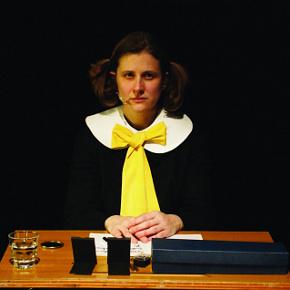 Chiara Lagani in Discorso giallo (photo: Enrico Fedrigoli)
