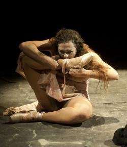 Alessandra Fabbri in Mangiare e bere. Letame e morte