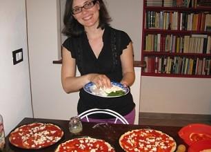 Laura Chianese a casa di Krapp