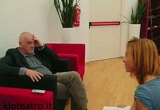 Eimuntas Nekrosius durante un'intervista per Klp