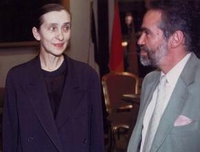Andres Neumann e Pina Bausch all'Opera di Roma nel 1987
