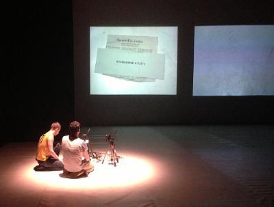 Diari d'accions - Pere Faura e Iñaki Alvarez (photo: Renzo Francabandera)