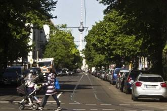 La torre della televisione nella Berlino Est