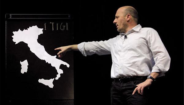 Marco Paolini in I TI_GI racconto per Ustica
