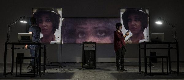 Pictures from Gihan alla Fondazione Merz (photo: Andrea Macchia)