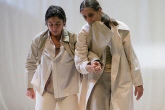 L'incontro di Raffaella Giordano e Maria Muñoz (photo Andrea Macchia)