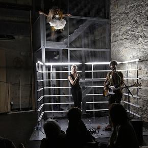 Un momento del Ballet da sette ore della Hominal (photo: Isabelle Meister)