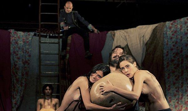 Giuseppe Battiston nel Falstaff di De Rosa (photo: Mario Spada)